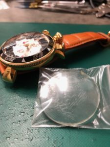 ガガミラノクロノ6056.6ガラス交換しました
